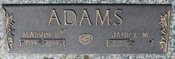 Marvin F Adams
