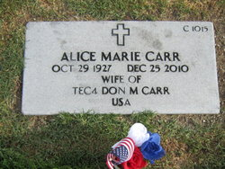 Alice Marie Carr