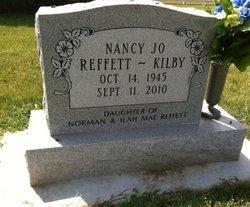 Nancy Jo <i>Reffett</i> Kilby