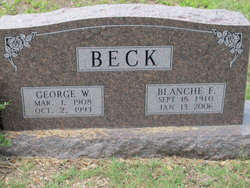 Blanche F Beck