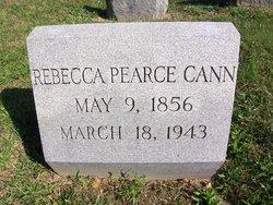Rebecca Lawrence <i>Pearce</i> Cann