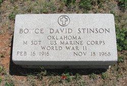 Boyce David Stinson