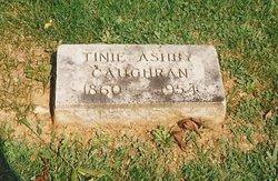 Ann Hasseltine Tinie <i>Ashby</i> Caughran