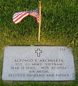 Sgt Alfonso E Archuleta