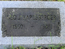 George J Karlsberger