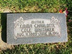 Emma Charlotte <i>Cole</i> Whitaker