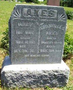 Mary W. Polly <i>Hart</i> Akes