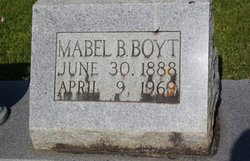 Mabel <i>Bird</i> Boyt