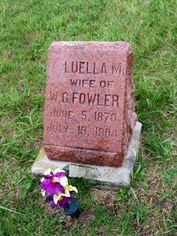 Luella M <i>Bovee</i> Fowler