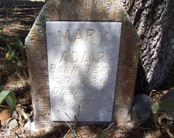 Mary Vance <i>Vancil</i> Adair