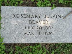 Rosemary <i>Blevins</i> Beaver