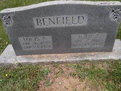 Julia A. <i>Love</i> Benfield