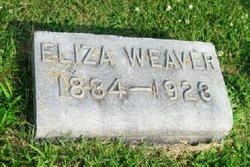 Eliza Courtney <i>Caywood</i> Weaver
