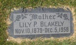 Lily Eliza <i>Parker</i> Blakeley