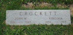 Virginia Virge <i>Collins</i> Crockett