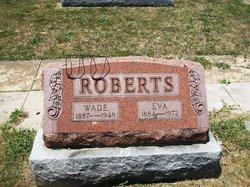 Frances Evelyn Eva <i>Underwood</i> Roberts