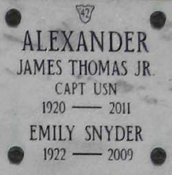 Emily <i>Snyder</i> Alexander