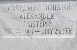Florrie Mae <i>Houston</i> Alexander