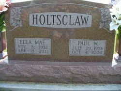 Ella Mae <i>O'Haver</i> Holtsclaw