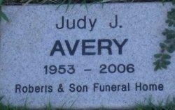 Judy J <i>Ellington</i> Avery