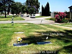 Bessie Leah Bird <i>Thompson</i> Bray