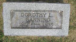 Dorothy Louise Banning