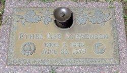 Ethel Lee Stevenson