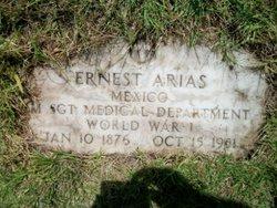 Sgt Ernest Arias