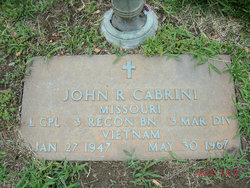 LCpl John Richard Cabrini