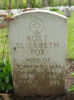 Roxy Elizabeth <i>Vine</i> Fox