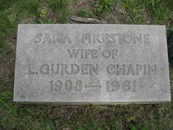 Sara <i>Firestone</i> Chapin