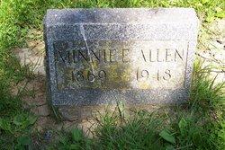 Minnie E. <i>McArthur</i> Allen