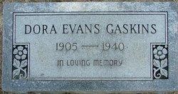 Dora <i>Evans</i> Gaskins