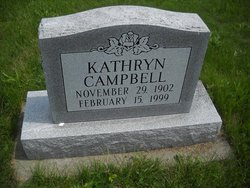Kathryn Belle Kate <i>Gartin</i> Campbell