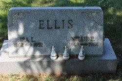 Nellie E <i>Greenhill</i> Ellis