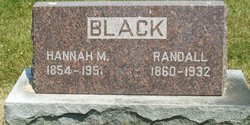 Hannah M. <i>Kershaw</i> Black