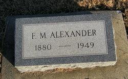 F M Alexander