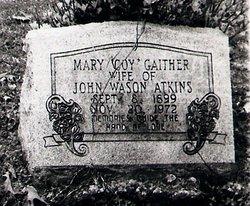 Mary Coy <i>Gaither</i> Atkins