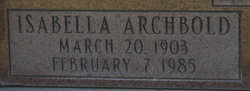 Isabella Archbold