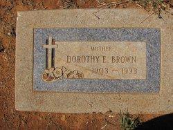 Dorothy Evelyn <i>Rhodes</i> Brown