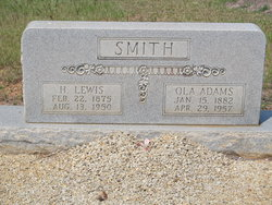Ola <i>Adams</i> Smith