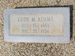 Code Maxie Adams