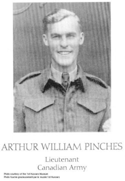 Lieutenant Arthur William Pinches