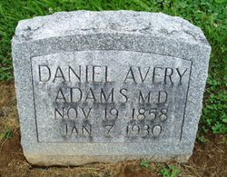 Dr Daniel Avery Adams