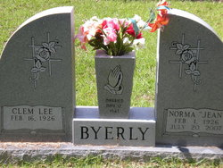 Norma Jean <i>Clements</i> Byerly