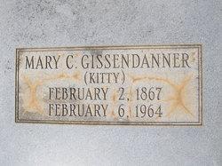 Mary Catherine. Kitty <i>Hawkins</i> Gissendanner