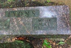 Alice <i>Mclain</i> Lyons