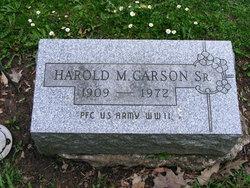 Harold Maxwell Mox Carson, Sr