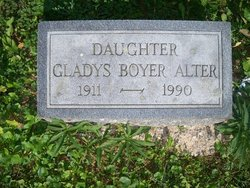 Gladys <i>Boyer</i> Alter