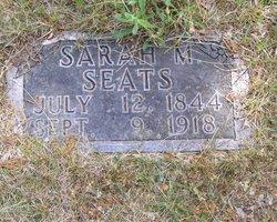 Sarah Matilda <i>Cypert</i> Seats